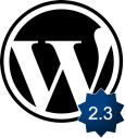 WordPress 2.3