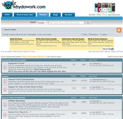 WhyDoWork Forums