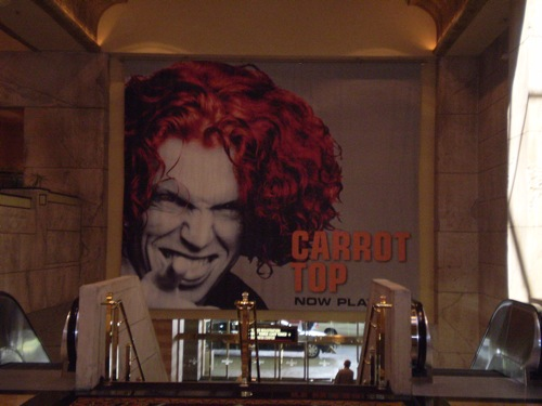 Carrot Top - Las Vegas