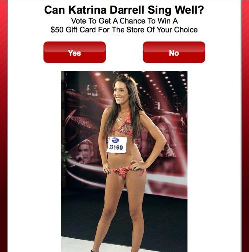 Katrina Darrell Poll