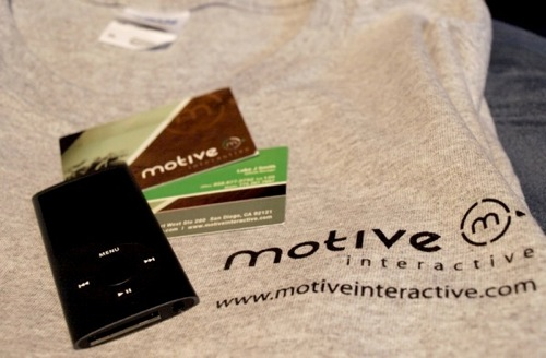 Motive Interactive - iPod and Shirt