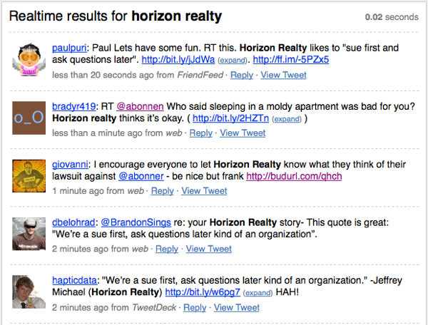 Horizon Realty Tweets