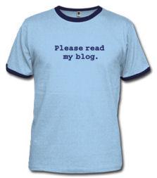 Blogging Shirt