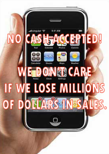 No credit card? No iPhone!