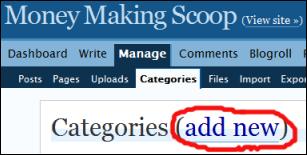 Add New Category