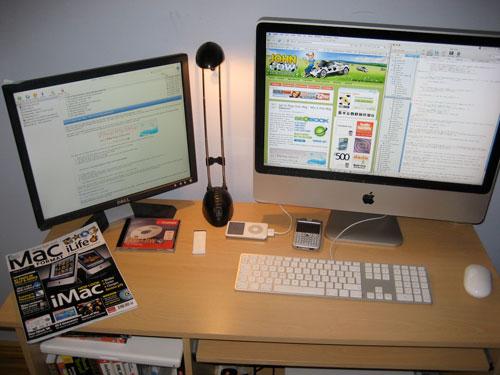 John Cow's iMac
