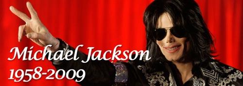Michael Jackson Tribute Banner